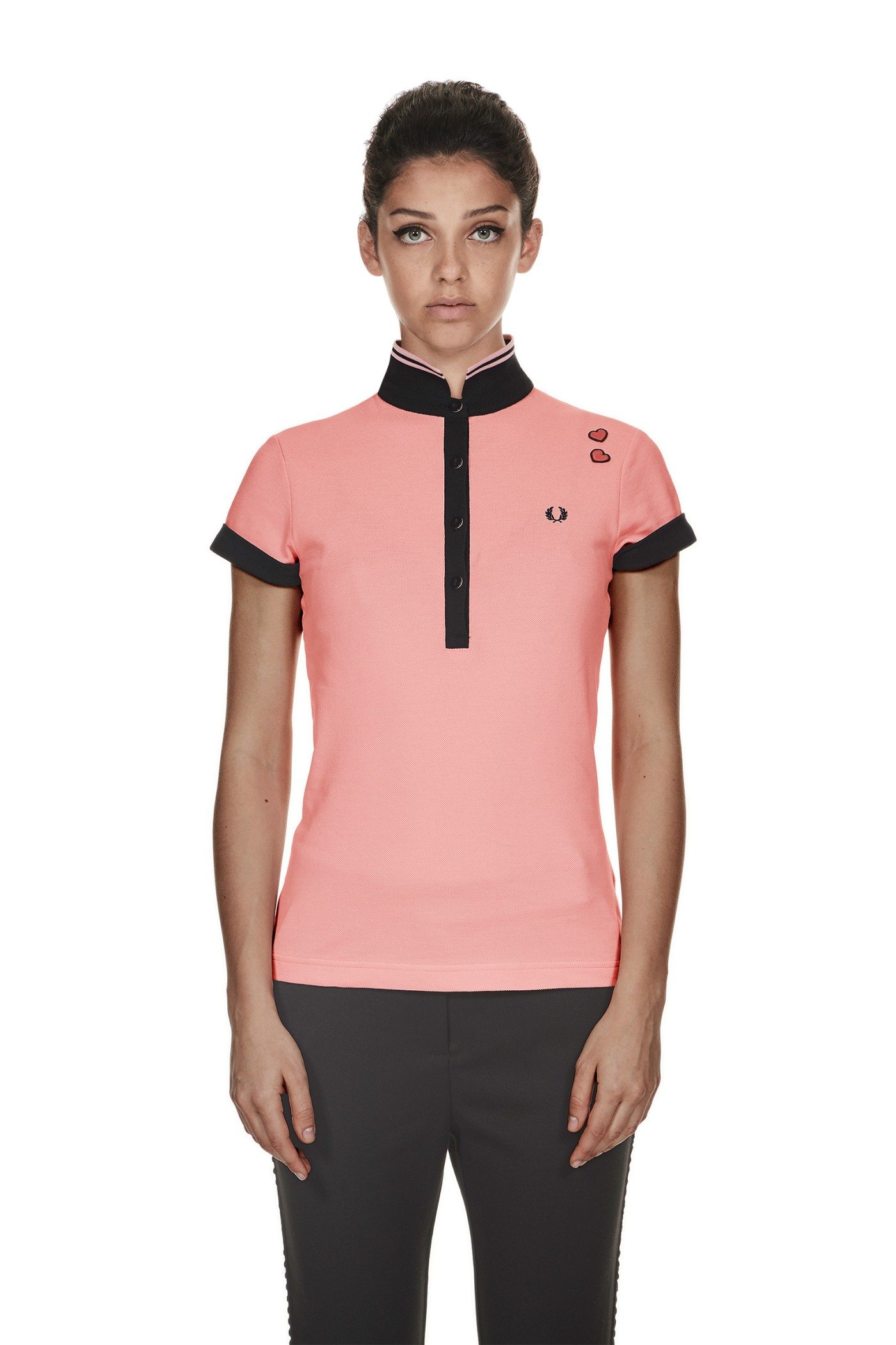 Fred Perry Amy Winehouse Fred Perry Shirt Amy Pink