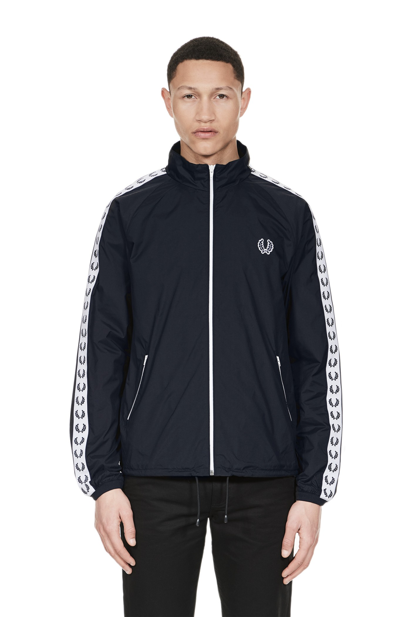 Fred Perry - Sports Authentic Taped Sports Jacket Navy