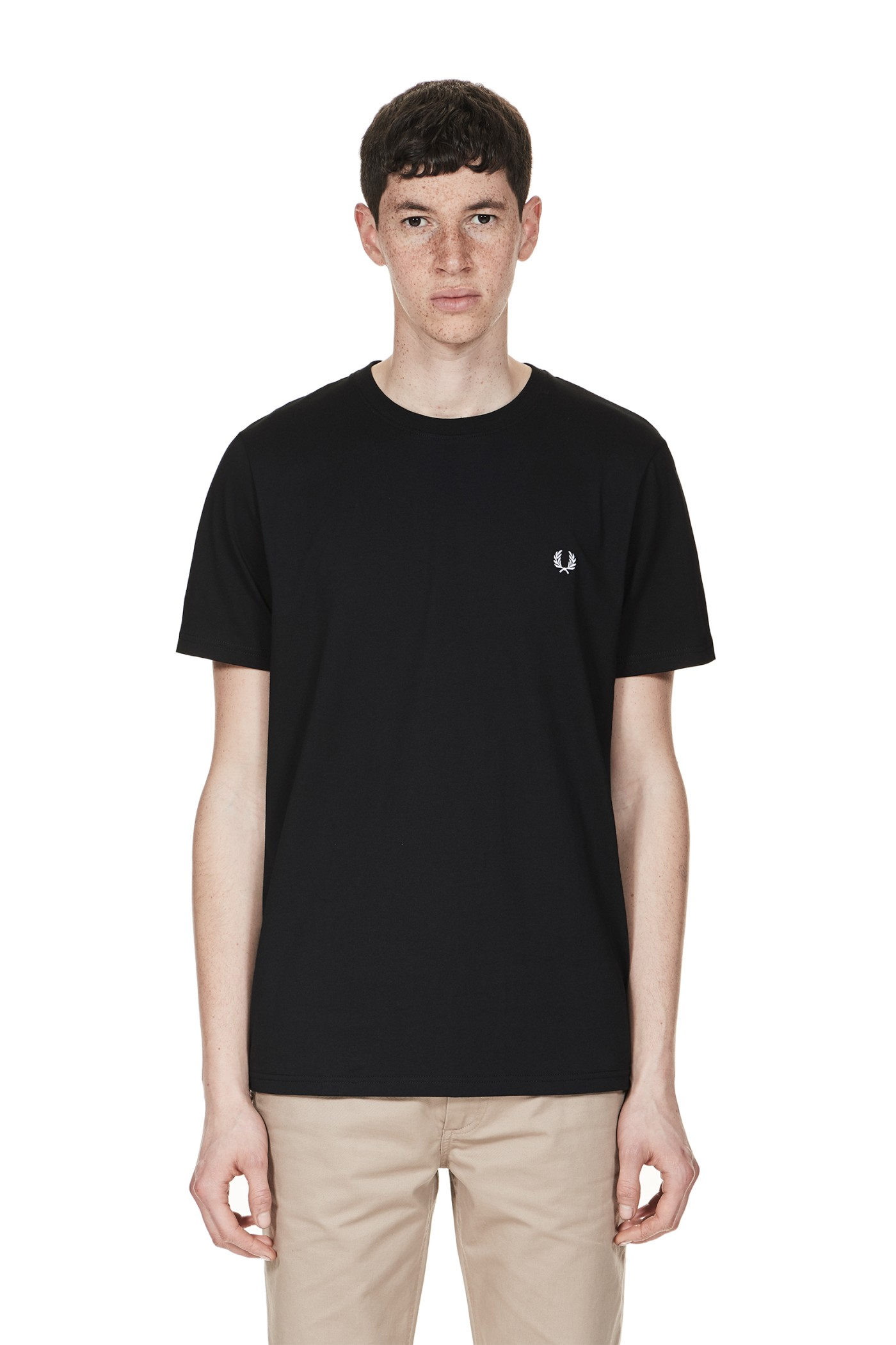 Fred Perry - Crew Neck T-Shirt Black